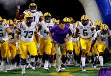 From The LSU Sidelines
