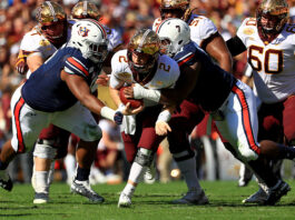 Auburn Loses Outback Bowl