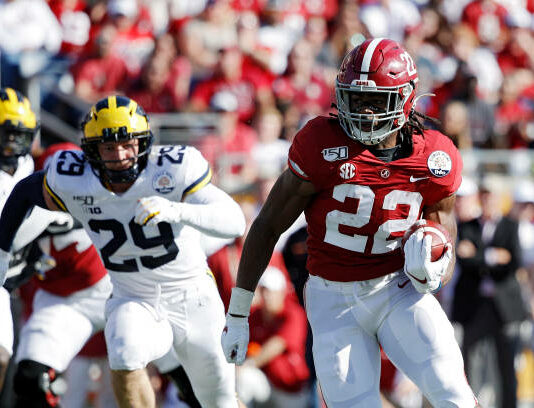 Senior Najee Harris is returning to a new Alabama Crimson Tide offense where he could be a solid contributor and potential leader in the SEC.