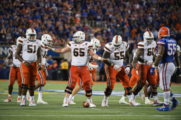 The Miami Hurricanes are returning all five starters from last season on the offensive line. The experience and an up tempo system should improve the unit.