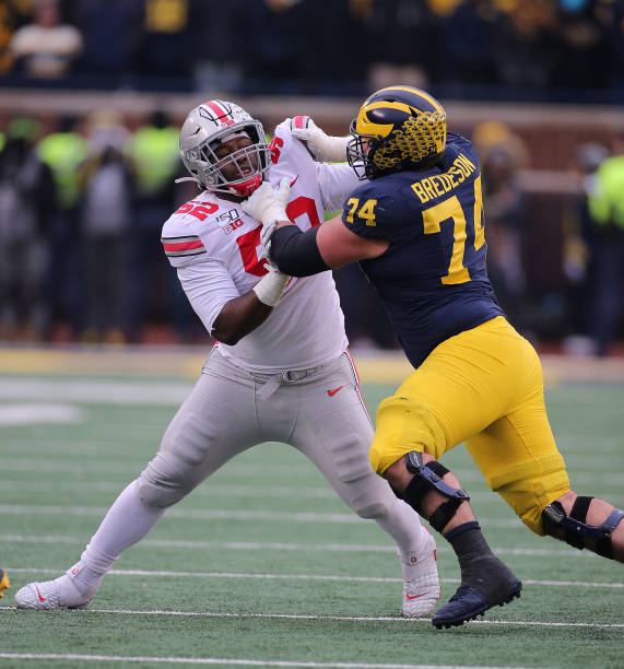 When it comes to the Ohio State defensive line, there's something in the water. The Buckeyes have to find their next Joey Bosa, Nick Bosa, or Chase Young.