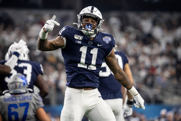 Micah Parsons is keeping Linebacker U alive and well. He is just the latest Penn State great to wear No. 11 at the linebacker position.