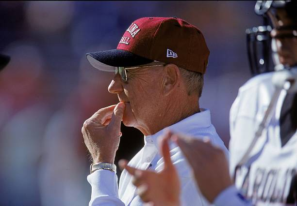 The Lou Holtz era of Gamecock football spanned from 1999-2004. HIs tenure propelled the program foward, and shocased some great defensive players.