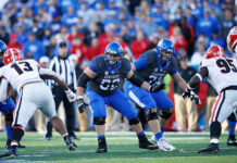 Kentucky's Offensive and Defensive Lines