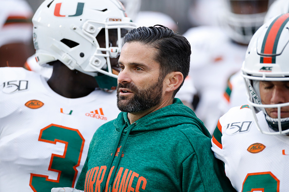 Miami is still in the ACC Championship hunt. The Hurricanes are currently tied for second in the ACC with Clemson.