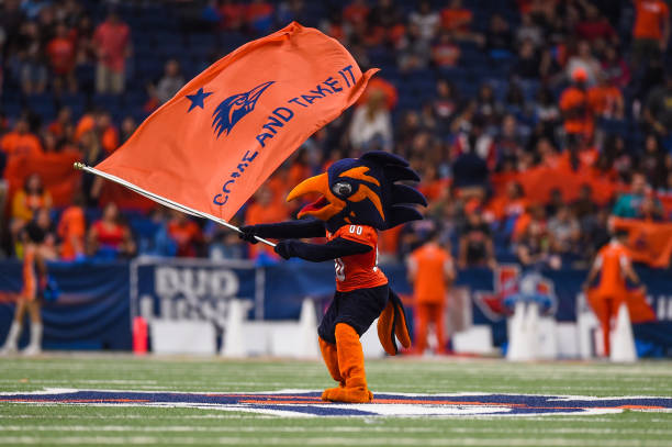 UTSA brought their 1-0 record home to the Alamodome aginst SFA. Check out UTSA Wins Second Straight Game to see how the game unfolded.