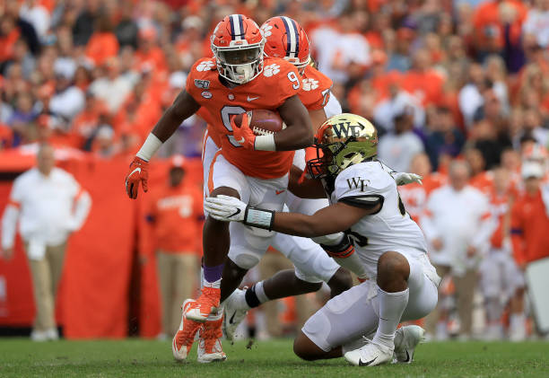 The Clemson Tigers were able to easily dominate from the first snap until the final whistle and put away Wake Forest 37-13.