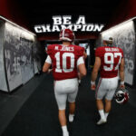 The #2 Alabama Crimson Tide had a big statement win over the #3 Georgia Bulldogs 41-24 as they seperated themselves from the rest of the SEC.
