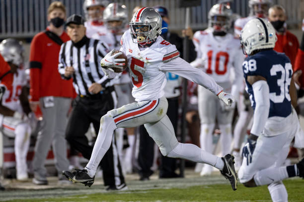 Ohio State and Penn State, as usual, played in a game with 2020 playoff implications. OSU's 38-25 win gives them a 2-0 start.