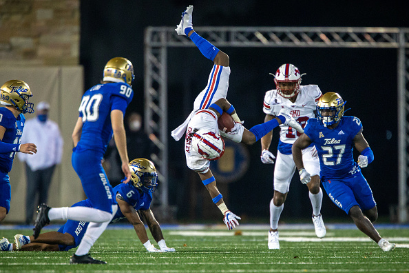 SMU Unravels In Tulsa