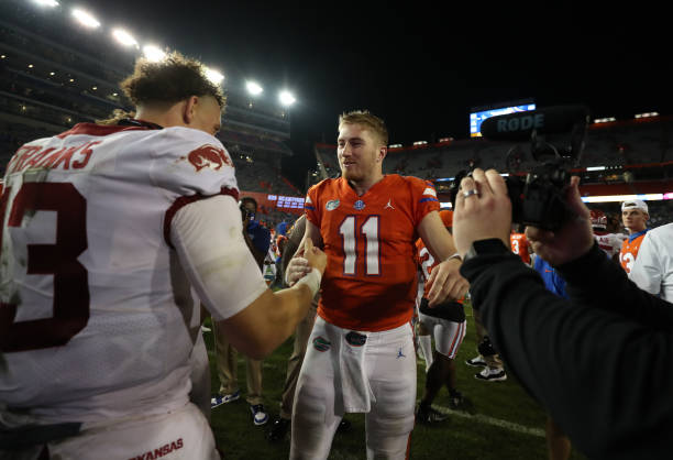 The Florida Gators returned to the Swamp with a convincing 63-35 win over the Arkansas Razorbacks led by former Florida QB, Feleipe Franks.