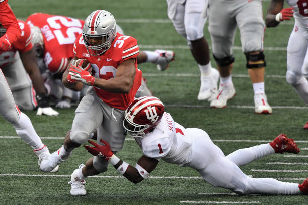 Ohio State defeats Indiana 0-0 for the Buckeyes' first top-ten win this season.Though Ohio State got the win, it wasn't pretty.