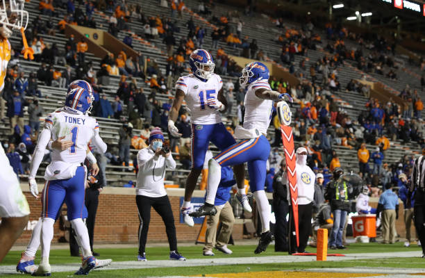 The Florida Gators officially clinch the SEC East title after knocking off Tennessee 31-19 and will face Alabama in the title game.