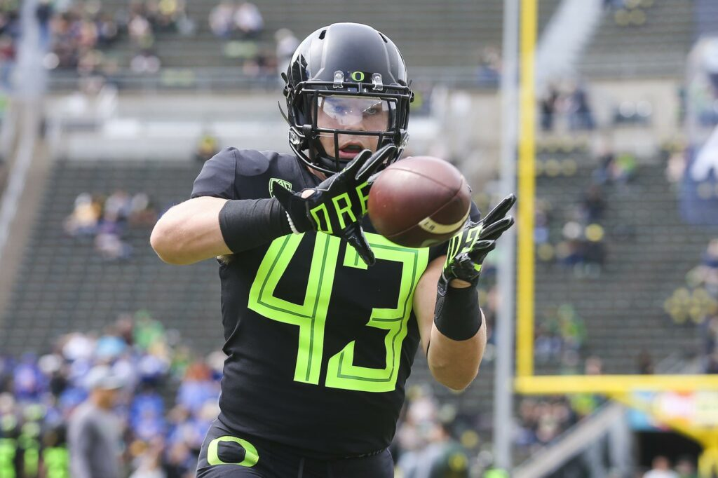 Oregon's Nick Wiebe Highlights Canadian Football Talent. Wiebe is the latest of promising young football talent to grow up in Canada.