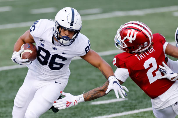 Who are the Penn State tight ends now that Pat Freiermuth has declared for the NFL draft? There are two viable options for the starting role in 2021.