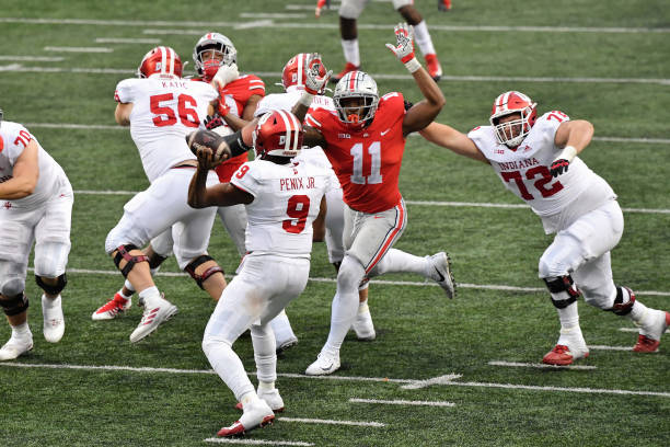 Ohio State has to replace six starters on defense in 2021. Five of them were selected to one of the All-Conference teams.