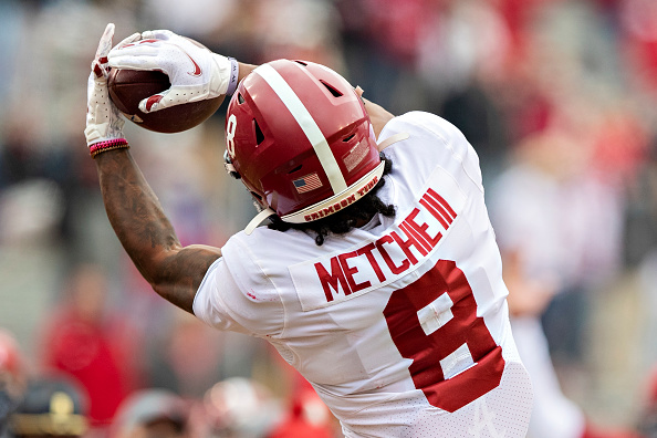 Alabama's John Metchie Looking For More