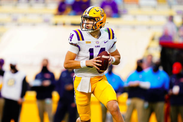 The 2021 LSU Quarterback outlook dives into which player should start under center for the Tigers in 2021. Will it be Max Johnson?