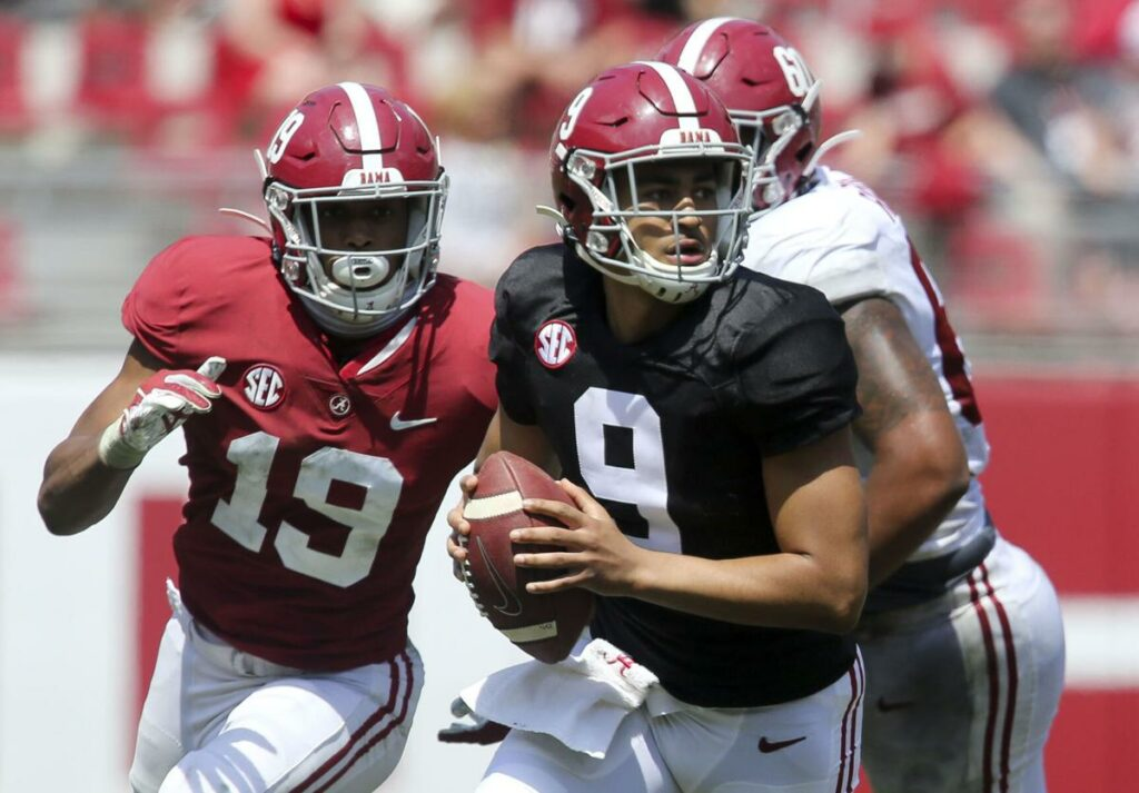 Most Outstanding Players from the 2021 Alabama A-Day Game