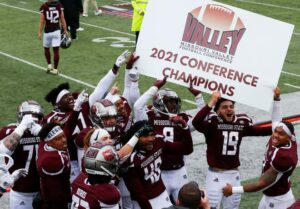 Missouri State beat Youngstown State 21-10 to take home the Missouri Valley Football Conference Title. The Bears look to a hopeful FCS playoff berth.