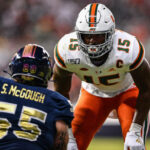 The Miami Hurricanes had two edge rushers drafted in the first round of Thursday's 2021 NFL Draft. The last time that happened was in 2006 draft.