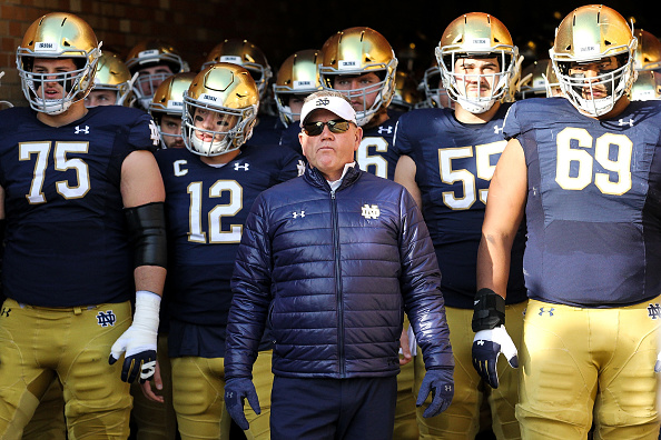 Brian Kelly on hot seat
