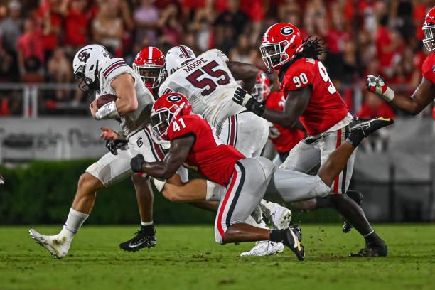 The South Carolina offense