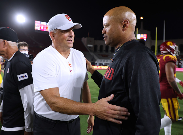 Clay Helton Is Out At USC.
