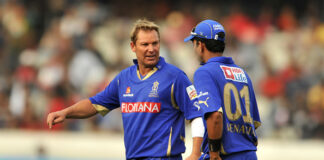 Shane Warne and the Rajasthan Royals won the IPL in 2008