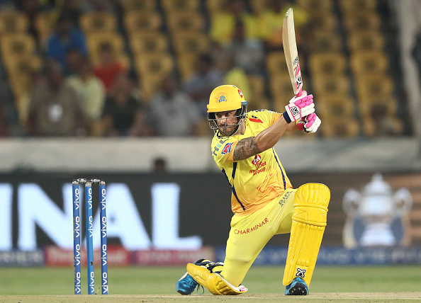 Faf Du Plessis has been in sublime form in this IPL season.