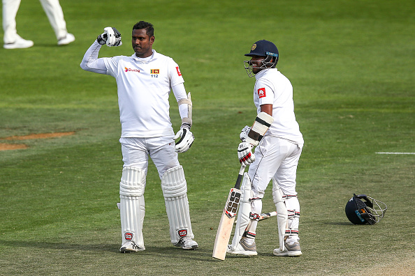 Angleo Mathews is the all-rounder in the all-time Sri Lankan test match XI.