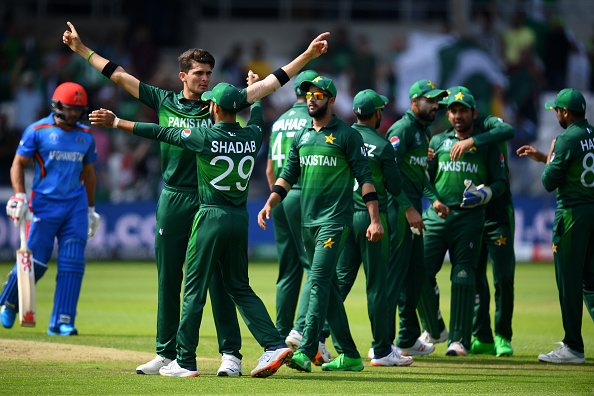 The Pakistan Squad at the Cricket World Cup 2019