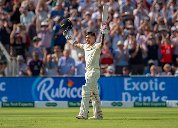 Rory Burns, captain of Surrey scores a century vs Australia at Edgbaston 2019