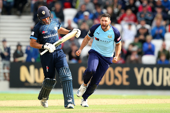 Tim Bresnan has now moved to Warwickshire County CC in 2020.