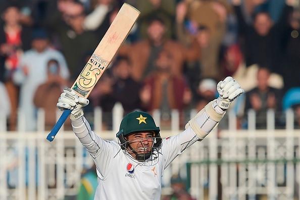 Abid Ali, part of the Pakistan Squad scores a century against Sri Lanka 2019