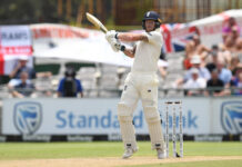 Ben Stokes captain and player against the West Indies 2020? Stokes batting against South Africa in 2020 Cape Town