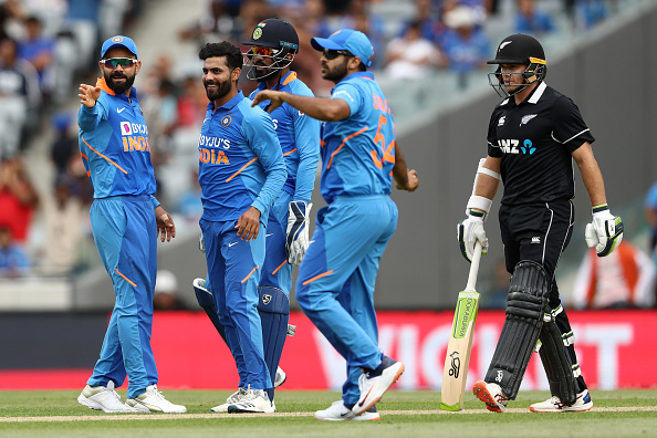 T20 World Cup preperations Ravindra Jadeja takes a wicket
