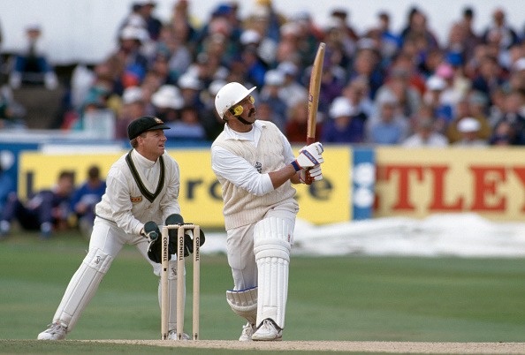 Graham Gooch scored over 8000 runs in tests for England between 1976 and 1995.