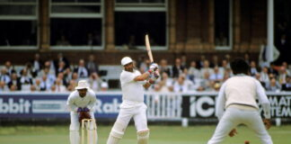 Graham Gooch scores a fantastic 333 vs India at Lords in 1990
