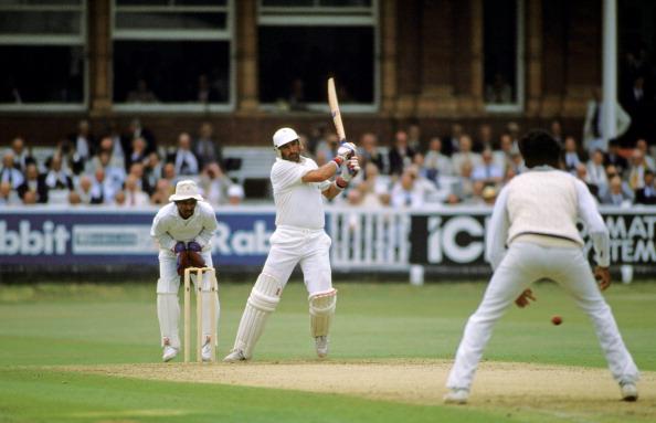 Graham Gooch scores a fantastic 333 vs India at Lords in 1990