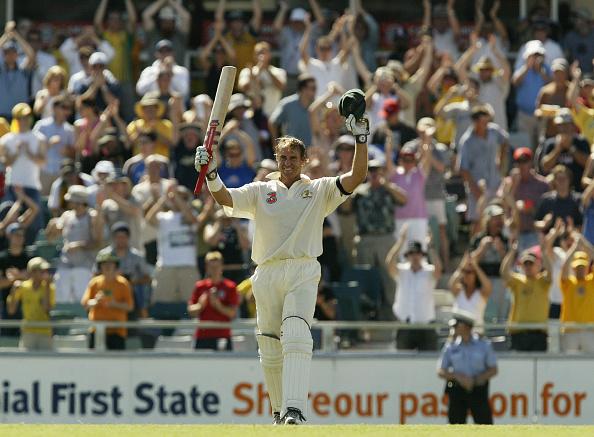 Matthew Hayden's 380 vs Zimbabwe is one of the highest test scores in cricket history.