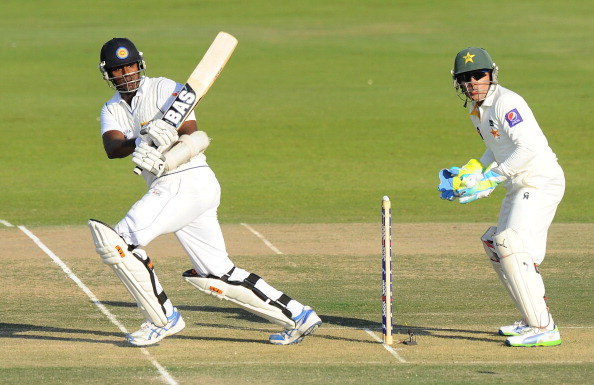 Scoring a century vs Pakistan at Abu Dhabi 2013