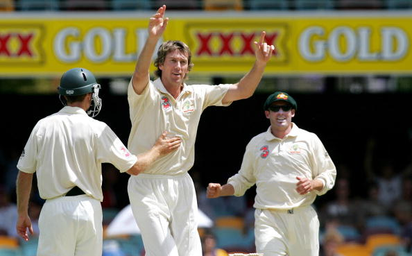 Glenn Mcgrath has taken the most test match wickets by a fast bowler for Australia