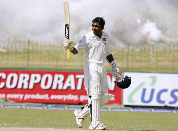 Mahela Jayawardene is one of the players on the list of the highest test scores in test match history.