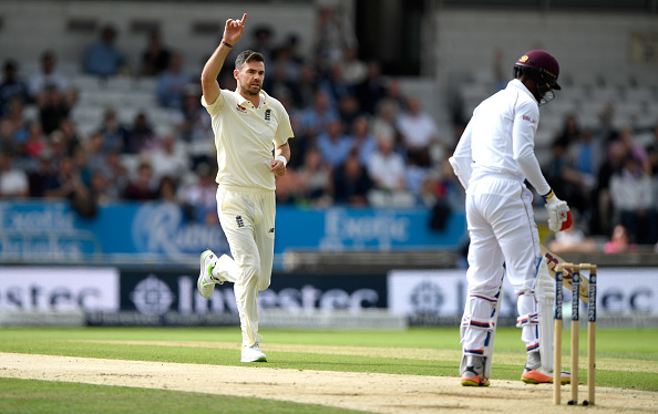 James Anderson has the most wickets in Test matches for England till 2020.