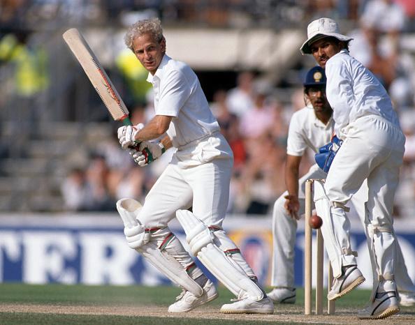David Gower was perhaps England's most elegant test batsman.