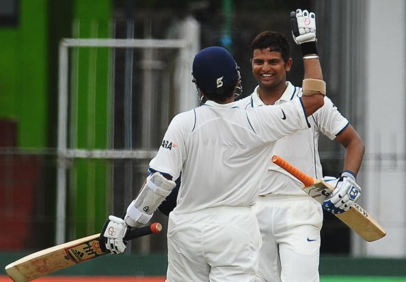 Suresh Raina is one of the 15 Indian Cricketers who have scored test centuries on debut