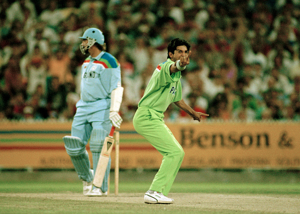 Wasim Akram is part of Pakistan's best ODI XI of all-time.