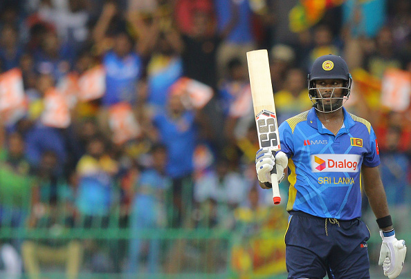 Angleo Mathews, makes it as an all-rounder in the Sri Lankan all-time ODI XI.