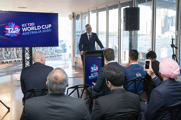 2020 World Cup T20 presentation by the Australian Cricket Board